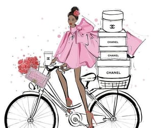 bags, fashion illustration, and gift image