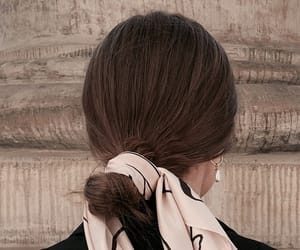 brunette, hair, and fashion image