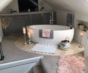 bathroom, beautiful, and bubbles image
