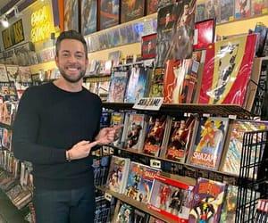 comics, DC, and shazam image