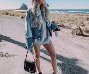 blonde, fashion, and girl image