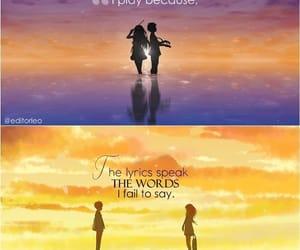 anime, shigatsu wa kimi no uso, and cry image