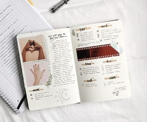 journal, journaling, and cute image