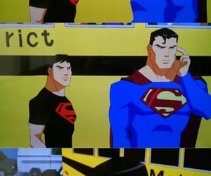 DC, superman, and superboy image