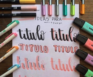 aesthetic, ideas, and lettering image