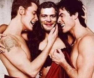 damon, klaus, and tvd image