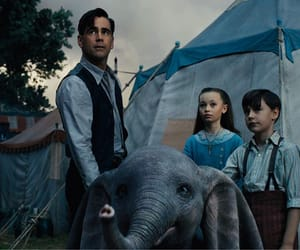 colin farrell, disney, and dumbo image