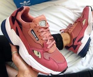 adidas, brand, and peachy image