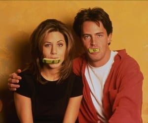 friends, chandler bing, and Jennifer Aniston image