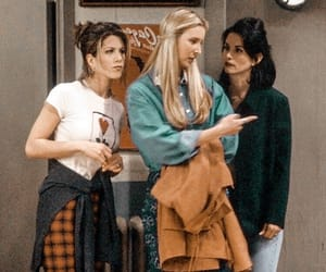 90s, joey tribbiani, and rachel green image