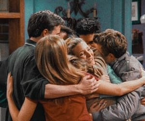 friends, series, and 90s image