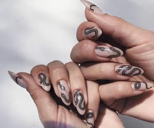 art, nails, and arte image
