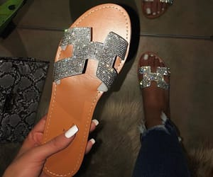 fashion, hermes, and sandals image