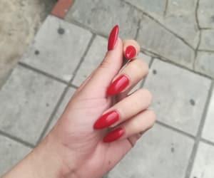 long nails, nails, and nail art image