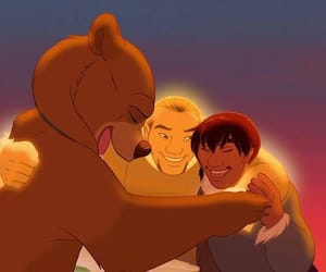 brother bear, disney, and love image