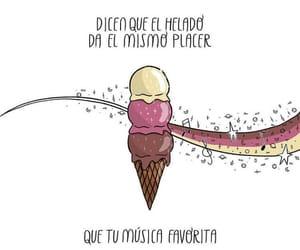 helado, frases español, and placer image