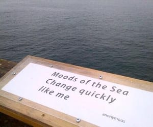 sea, quotes, and mood image