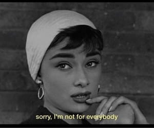 quotes, audrey hepburn, and aesthetic image