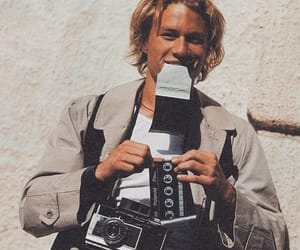 heath ledger, 90s, and aesthetic image