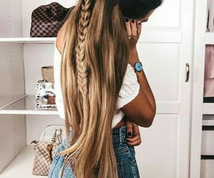 blond hair, hairstyle, and beutygirl image