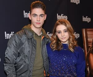 actor, hero fiennes tiffin, and actress image