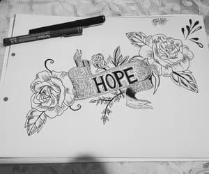 dibujo, tatuajes, and esperanza image