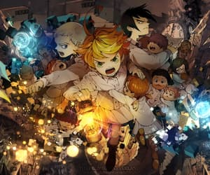 escape and the promised neverland image