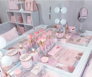 goals, pink, and make up image