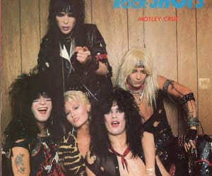 80s, vince neil, and mick mars image