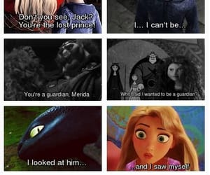 brave, merida, and jack frots image