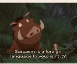 lion king, sarcasm, and disney image