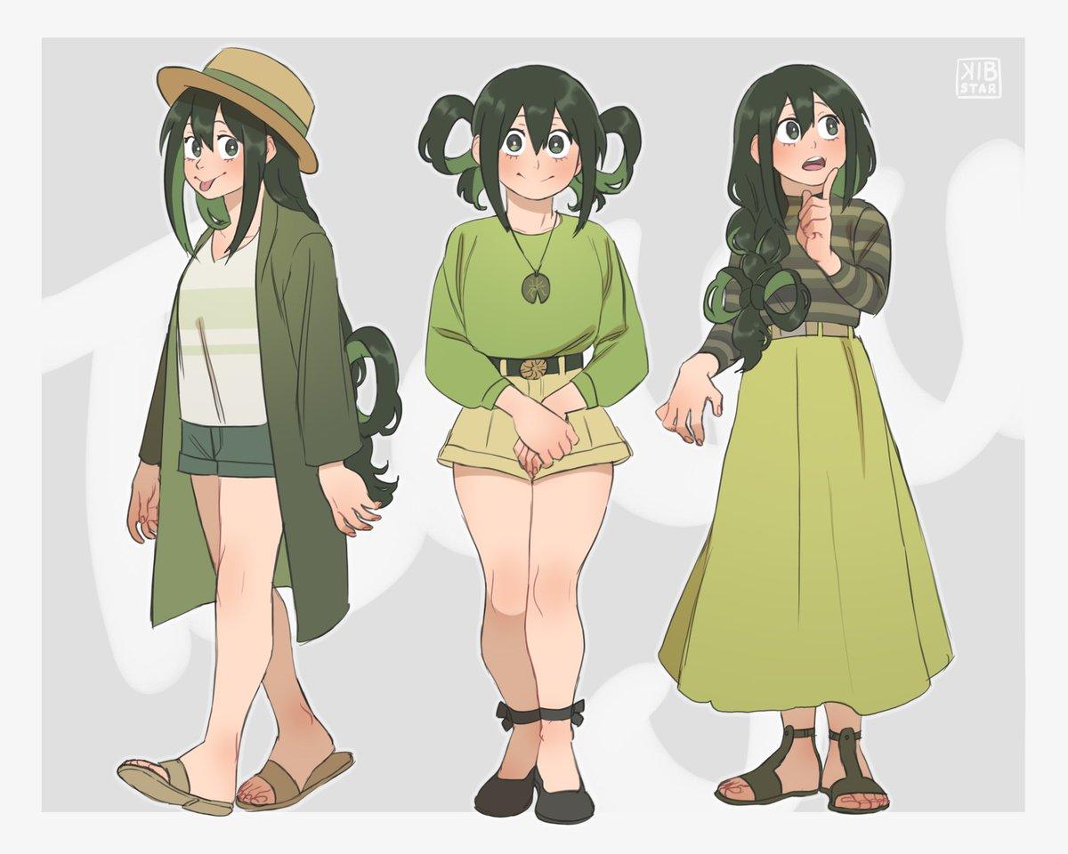 Tsuyu Asui Frog Froppy Discovered By Animerukia