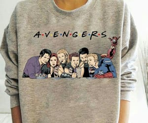 Avengers, Marvel, and t-shirt image