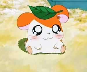 hamtaro, hamster, and anime image