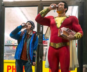 DC and shazam image