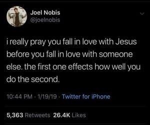 faith, jesus, and prayer image