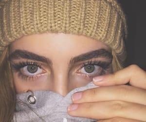 blonde, eyes, and lashes image