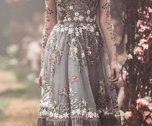 denim, dress, and fashion image
