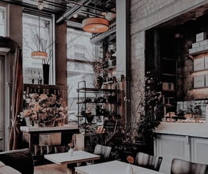 cafe, aesthetic, and theme image