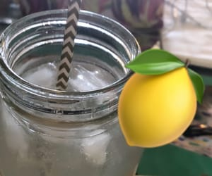 healthy, detox, and lemon water image