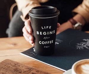 coffee, life, and cafe image