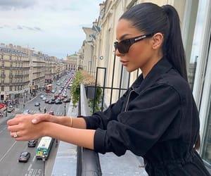 paris places travel, sunglasses ponytail, and goal goals life image