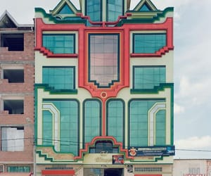 architecture, colorful, and design image