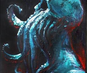 art, dark, and horror image