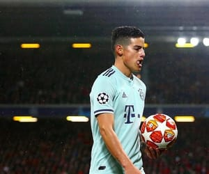fc bayern münchen and james rodriguez image