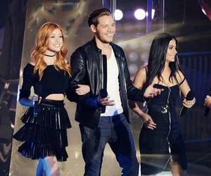 izzy, clary fray, and dominic sherwood image