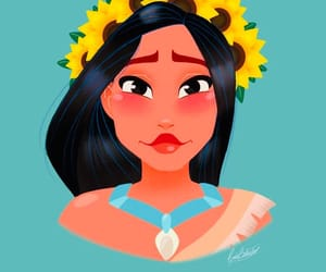 art, flower crown, and awesome image