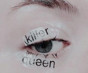 aesthetics, eye, and icon image