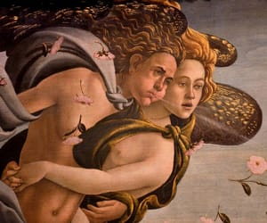 botticelli, art, and painting image