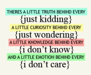 truth, curiosity, and emotion image